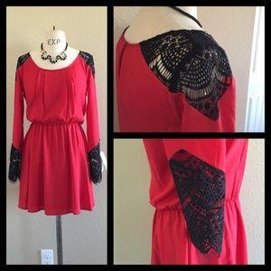 💋Gianni Bini 💋 Long Sleeve Dress Valentine's Day